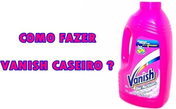 Vanish Caseiro Líquido - Como Fazer? http://www.aprendizdecabeleireira.com/2016/01/vanish-caseiro-liquido-como-fazer.html