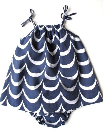 sundress: Cute Sundresses, Kids Clothes, Kids Fashion, Navy Waves, Adorable Sundresses, Kids Clothing, Summer Outfit For Baby Girls, Girls Outfit, Gray Gray