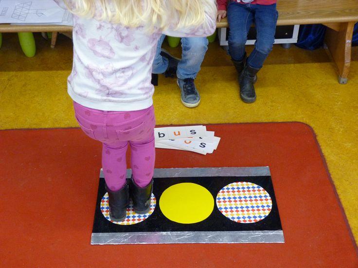 Bewegend leren met de hakkaart op de Prins Clausschool.