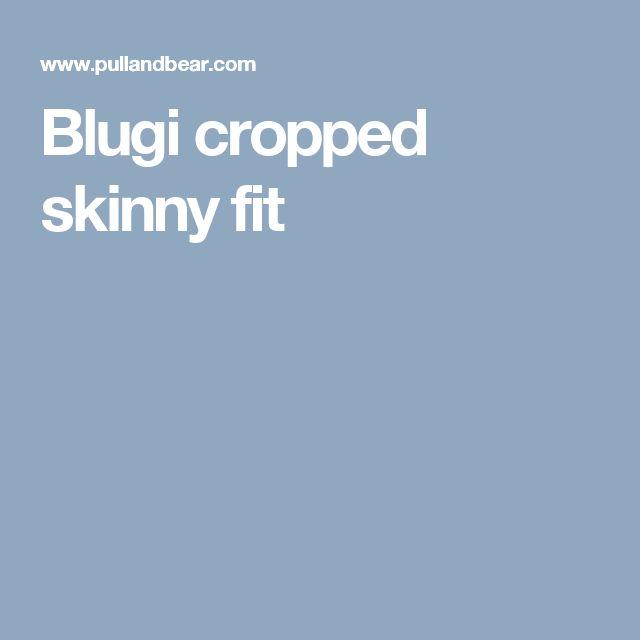 Blugi cropped skinny fit