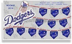 New Cut Out Baseball Banner