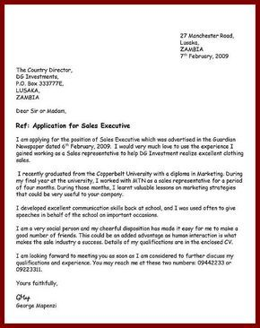 How To Write An Application Letter | A gallery | Writing an ...