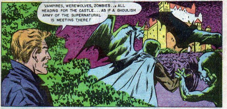 Vampires, werewolves, zombies...