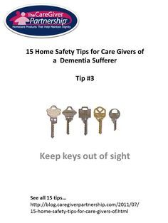 Safe at home project dementia
