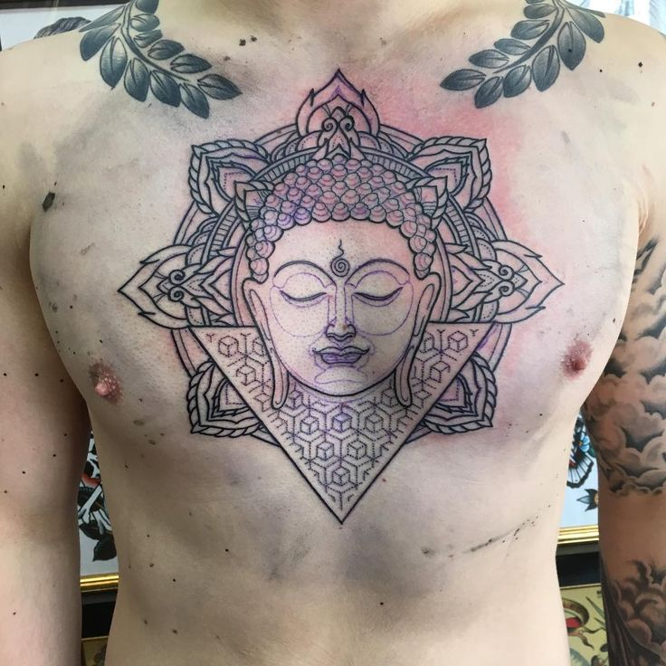 Tattoo Design Maker 1080 1080: Chest-Buddha-Tattoo-Design.jpg (1080×1080)