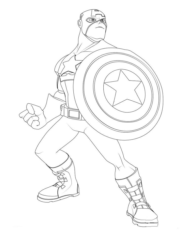 8 besten Captain America Bilder auf Pinterest | Malvorlagen ...