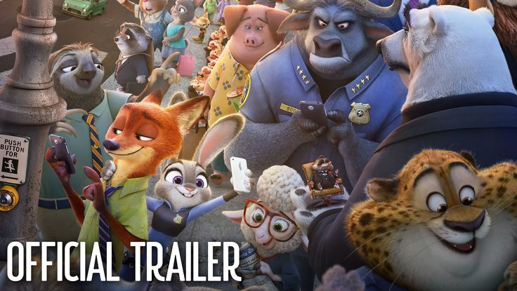 """Happy Zoo Year! The new trailer for Zootopia featuring Shakira's new single """"Try Everything, is here! Watch now and see the film in theatres in 3D March 4!"""