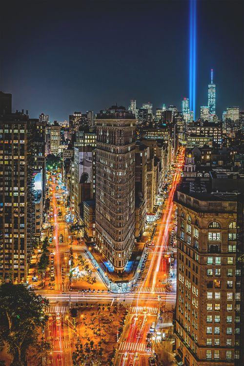 Beams into the Stars.. 9/11 WTC ©