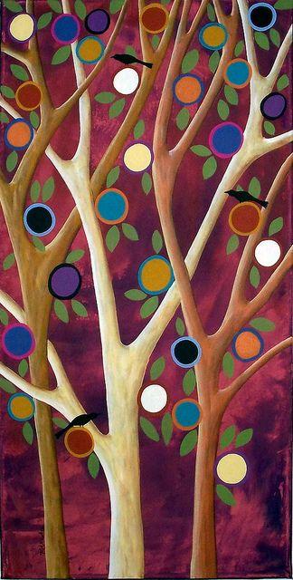 Trees Birds & Blooms ~ Karla Gerard