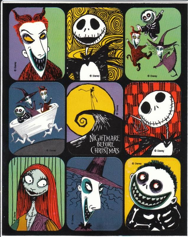 Great Nightmare Before Christmas collage.
