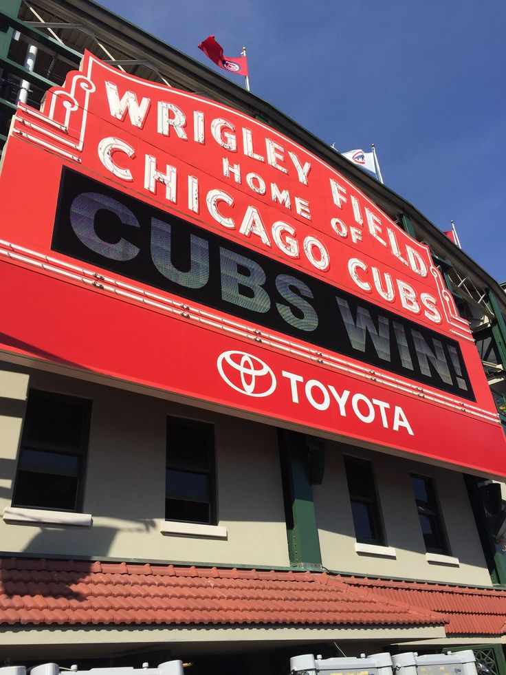 """Wrigley Field-Chicago Honestly, it's one of the coolest baseball environments I've been in. I still have """"Go Cubs Go"""" stuck in my head and I'm not happy about it.  June 11th, 2017"""