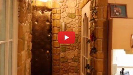 """""""Каменные стены"""" из папье-маше - подробное обучающее видео  #каменные_стены #папье_маше #обучающее_видео #ремонт"""