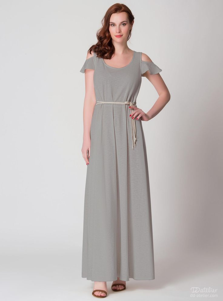 Maxi dress for large breasts