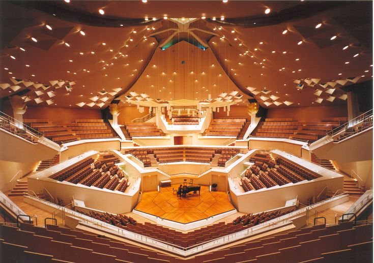 Berliner Philharmonie, Berlin, Germany (Architect: Hans Scharoun, 1963)