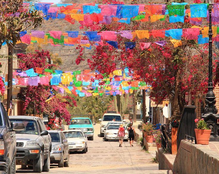 Downtown Todos Santos, Baja CA Sur, Mexico