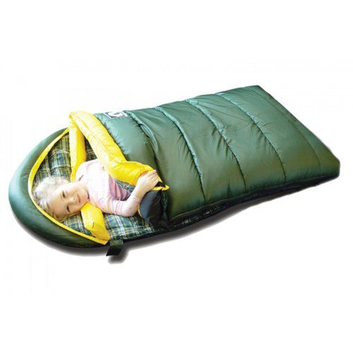 Grizzly Kid's +0-Degree Sleeping Bag, Green Grizzly, http://www.amazon.com/gp/product/B0006L6PCK/ref=as_li_tl?ie=UTF8&camp=1789&creative=390957&creativeASIN=B0006L6PCK&linkCode=as2&tag=smabisonl-20&linkId=UDEA2T24JFXJDDYR