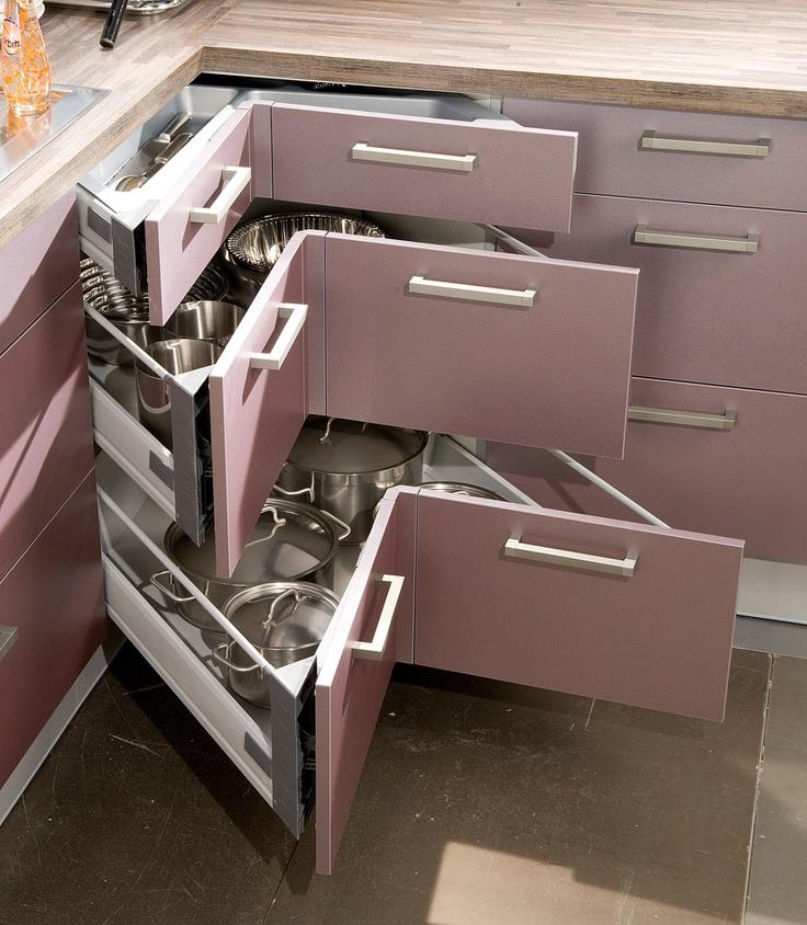 casseroliers et tiroir d 39 angle accessoires astucieux pinterest angles tiroir et rangement. Black Bedroom Furniture Sets. Home Design Ideas