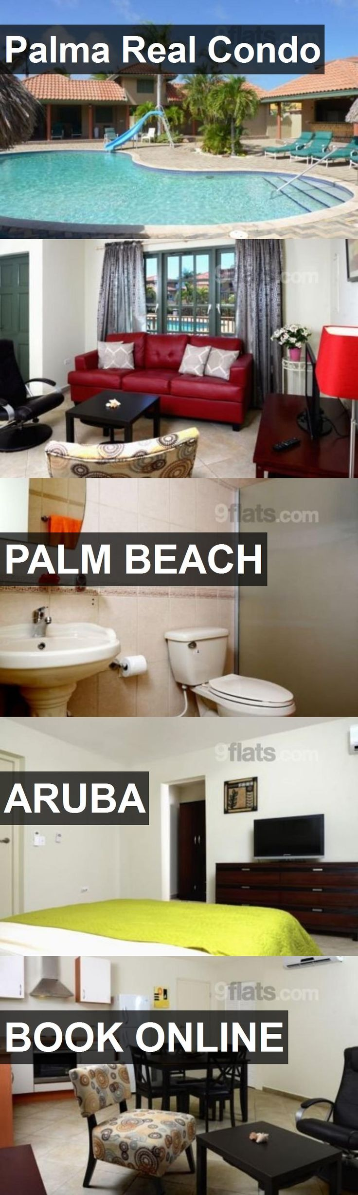Hotel Palma Real Condo in Palm Beach, Aruba. For more information, photos, reviews and best prices please follow the link. #Aruba #PalmBeach #travel #vacation #hotel