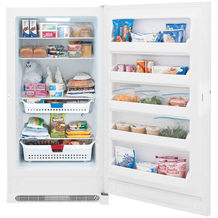 shop frigidaire 166cu ft frost free upright freezer white energy star at