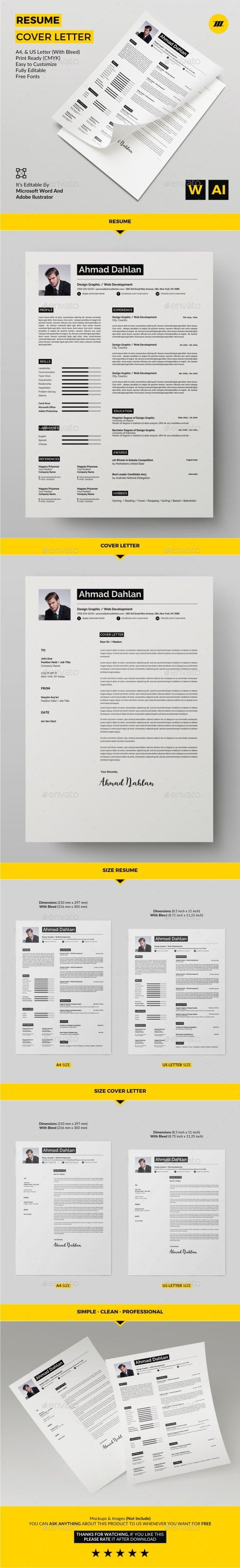 Simple Resume Exampleprin 92 Best Currículo Images On Pinterest  Resume Design Curriculum .