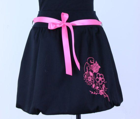 Flower skirt women skirt bubble skirt balloon skirt by ElzahDesign
