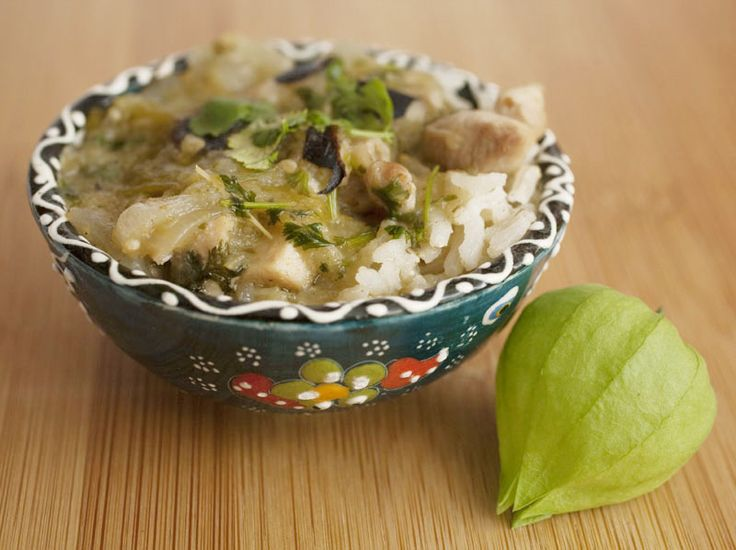 Tomatillo Chicken Stew | Easy Dinner Ideas | Pinterest