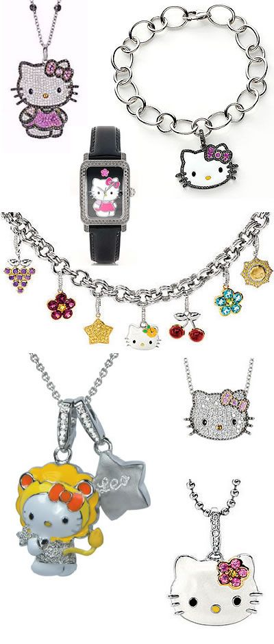 hello kitty jewelry accessories