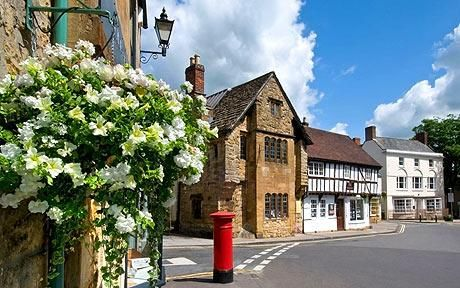 Sherborne is one of the prettiest villages in Dorset