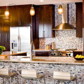 Contemporary Kitchen By Allison Jaffe Interior Design LLC