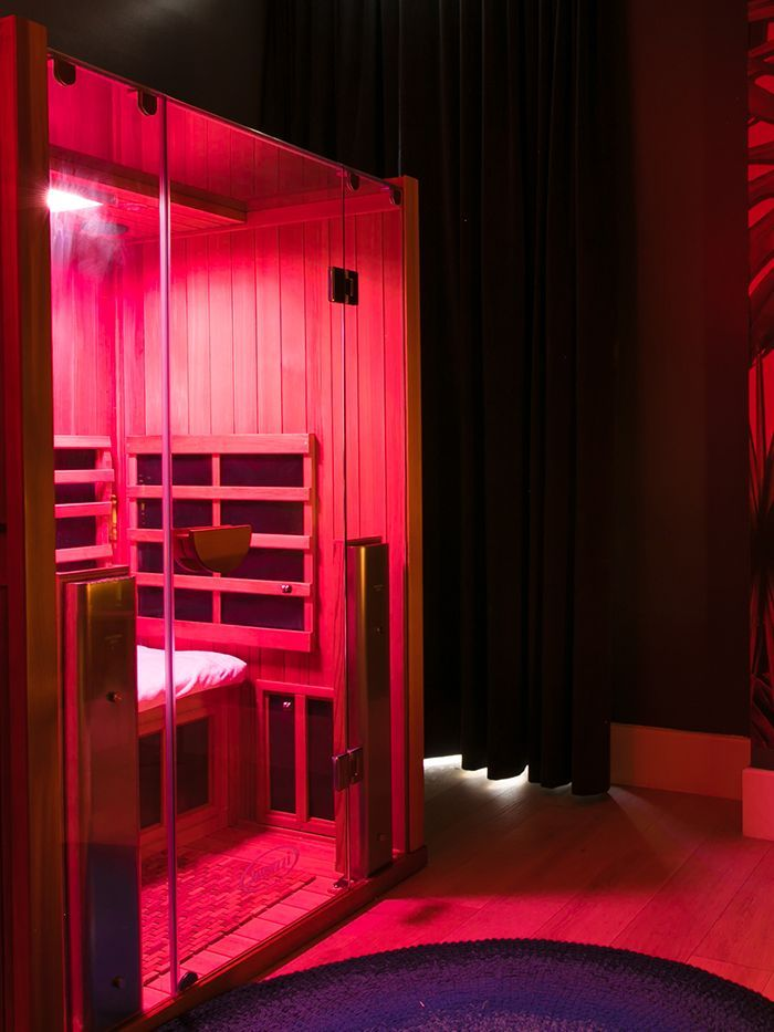 I Sweated in an Infrared Sauna Room to See If It'd Relieve My Stress
