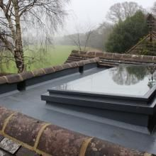 Lumen Gallery : Conservation Rooflights & Skylights Made From Cast Iron Lumen Rooflight