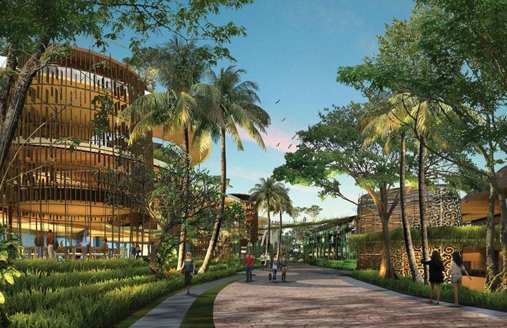 EATON Luxe NIRWANA BALI, designed by Arsitek Airmas Asri Jakarta