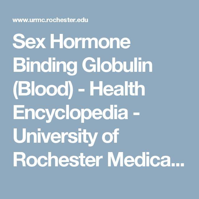 Sex hormone binding globulin in men