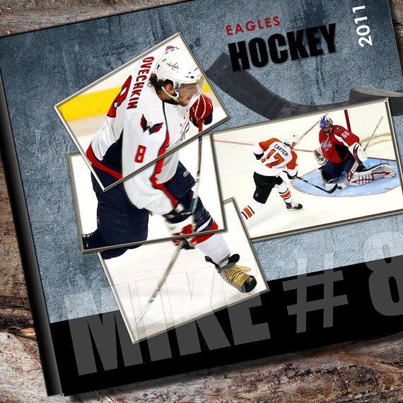 Custom Hockey Photo Album / or Scrapbook by AlbumOptions on Etsy, $55.95