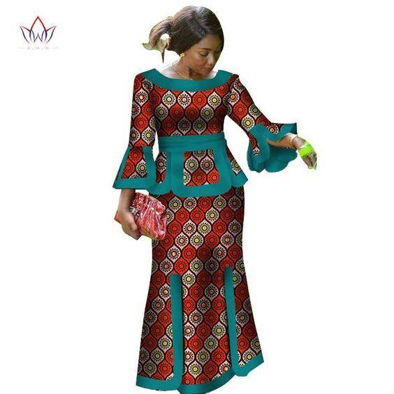 Ankara skirt and blouse styles short dresses,Africa For Women Fashion – Owame