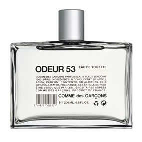 Odeur 53  Comme des Garcons Fragrance - classic  one of my favorites.
