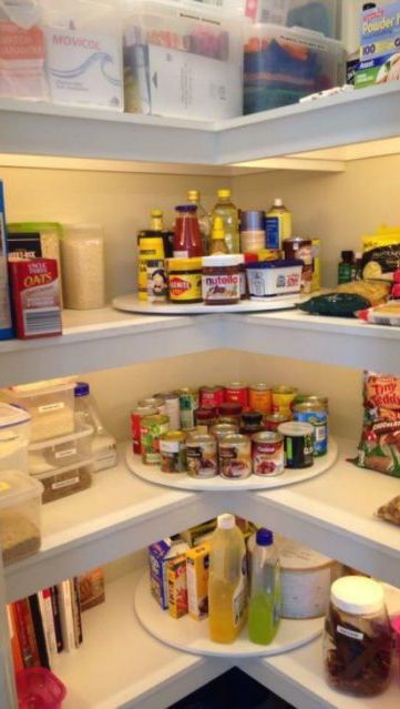 Show us an organization problem, and we'll show you a lazy Susan.