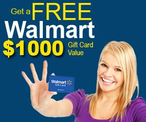 Free $1000 Walmart Gift Card.  One of the most outstanding items about WalMart save is that it provides some thing for all.  http://trkur.com/tk?o=13049&p=118477