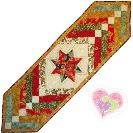 Camino de mesa navide o patchwork directo decoraci n for Caminos de mesa modernos