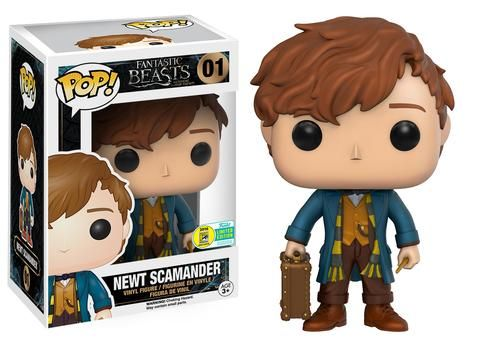SDCC 2016 exclusives | Pop! Movies: Fantastic Beasts - Newt Scamander #01