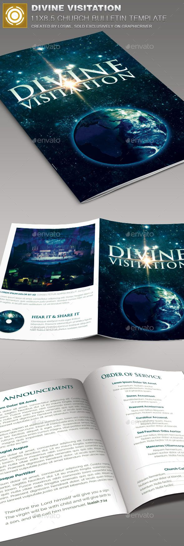 Best Modern Church Bulletins  Newsletters Images On