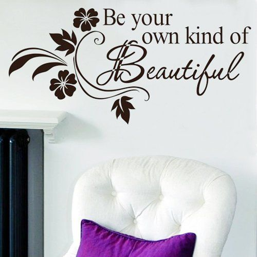 Sweet Dreams DIY Removable Art Vinyl Quote Wall Sticker: Amazon.co.uk: Electronics