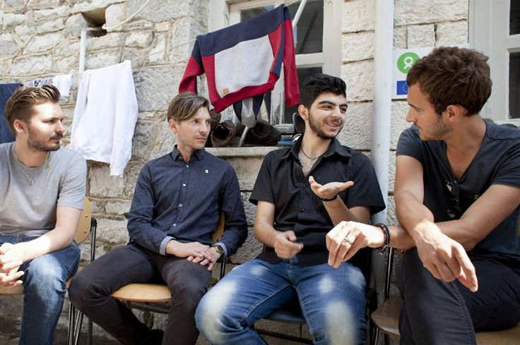Tom, Ed and Elliot in Northwest Greece to support... - No Sound But EDITORS