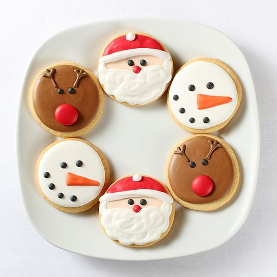The Perfect Peanut Butter Cut-Out Snowman Cookies For Christmas 2017 – Maura Kahn