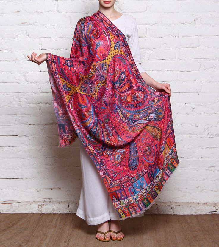 24 best images about Pakistani shawls on Pinterest ...