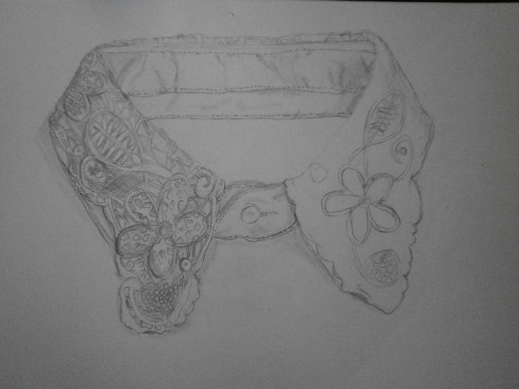 WT: schetsen van kraagjes