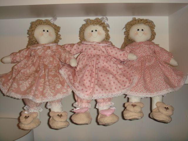 bonecas muito charmosas para enfeitar o quarto
