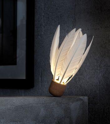 Mes coups de coeur du salon Maison et Objet 2013 - La lampe volant de Godefroy de Virieu  éditée par l'atelier d'exercices.