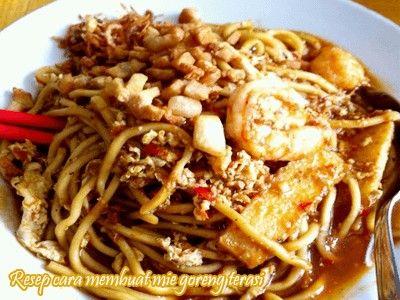 Resep Cara Membuat Mie Goreng Terasi. Mie goreng terasi merupakan salah satu jenis kuliner atau masakan tradisional khas indonesia.