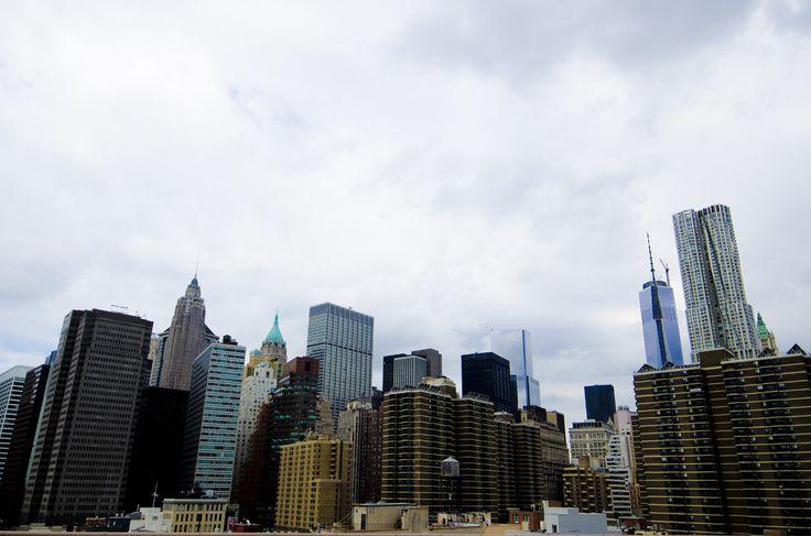 brooklyn bridge anna frost fashionpuppe  manhattan new york skyline skyscraper